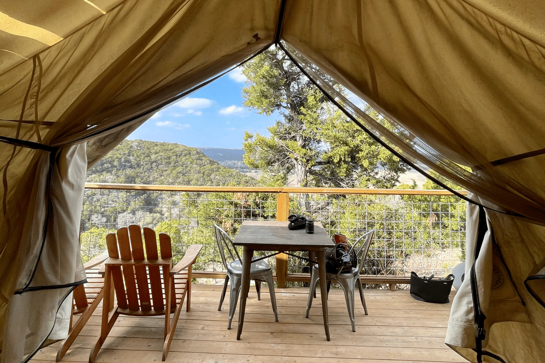 Glamping Packing List - what to bring glamping