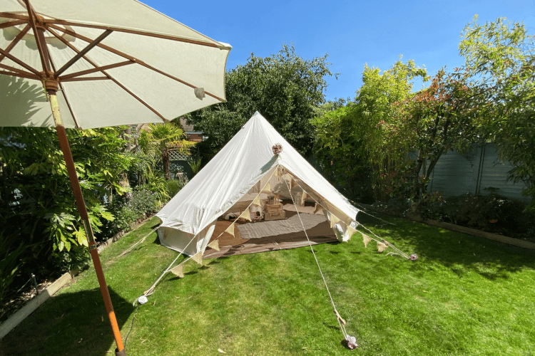 Glamping at Home