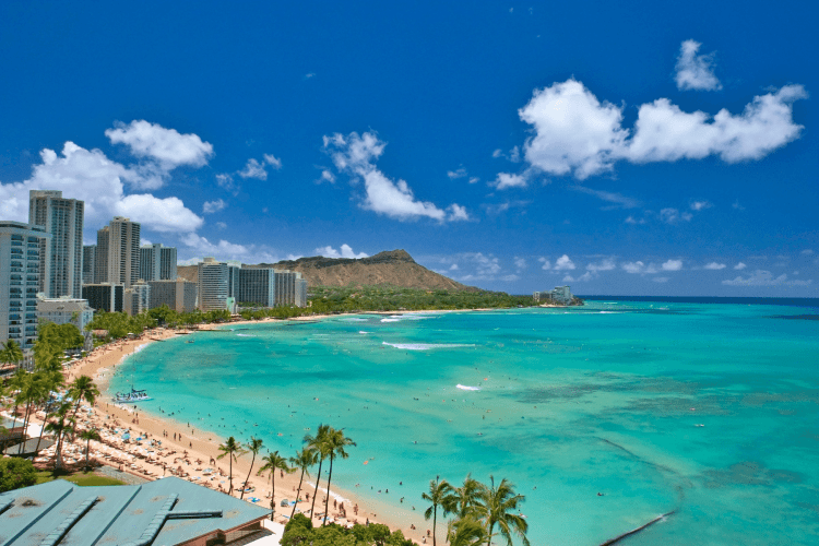 No passport needed for traveling to Oahu Hawaii