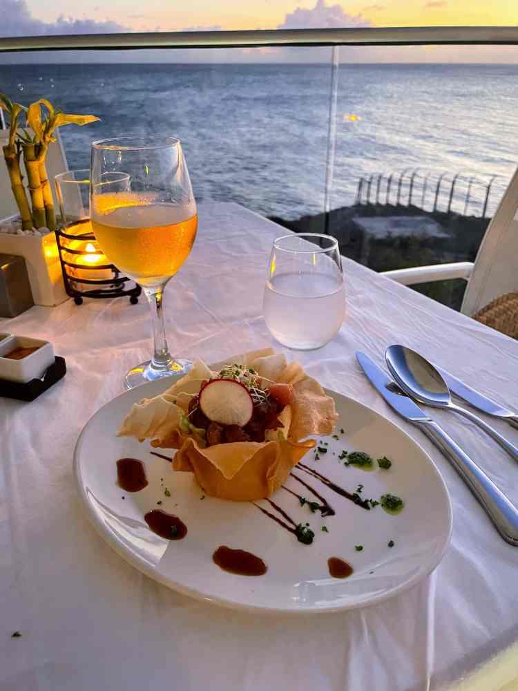 Dinner at Azul Restaurant