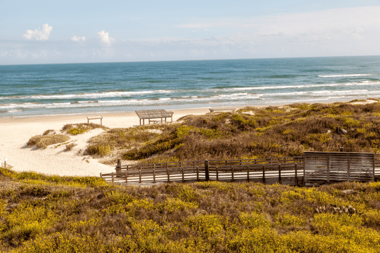 Padre Island National Seashore in Texas