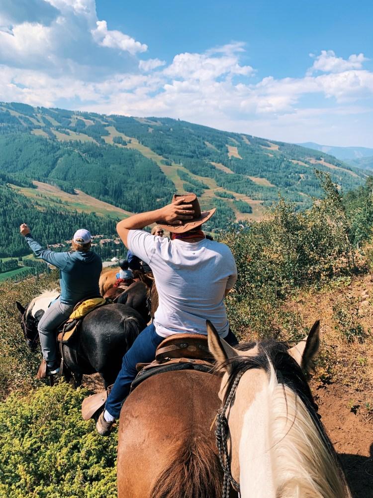 Vail Horseback Ride in Summer