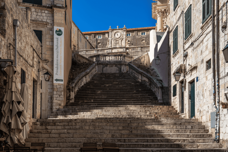 Things to do in Dubrovnik, Croatia - Jesuit Staircase