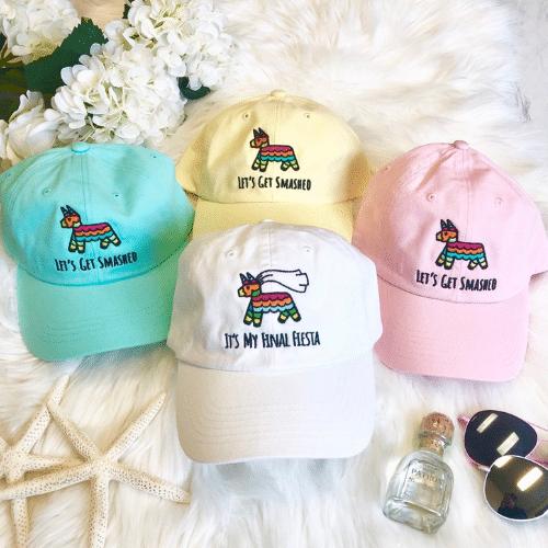 Bachelorette Party hats - fiesta