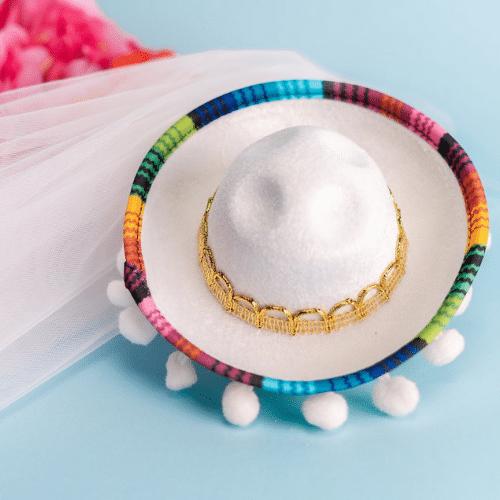 bride sombrero for bachelorette party
