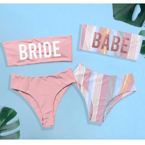 beach bachelorette party bikini