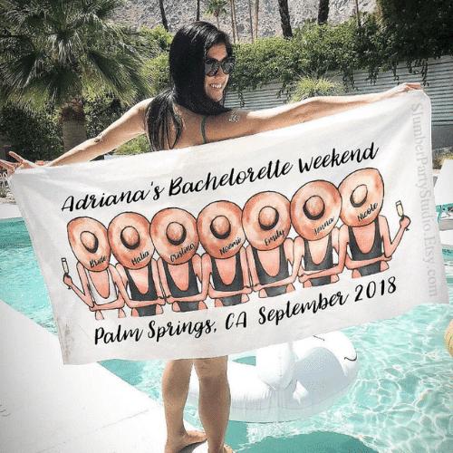 Beach Bachelorette Party beach towels