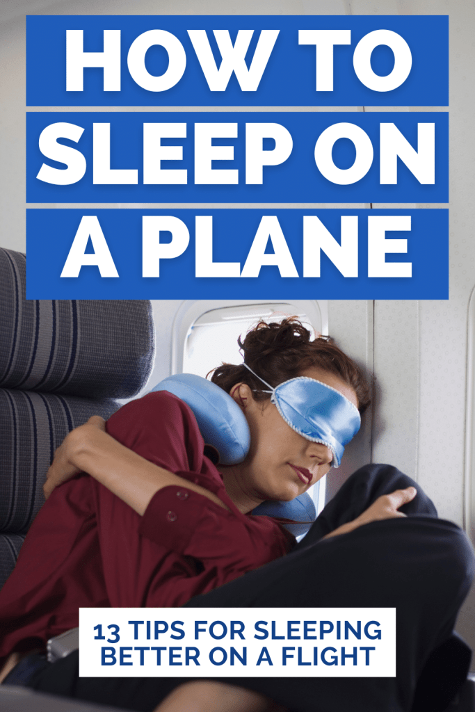 How to Sleep Better on a Plane - top tips