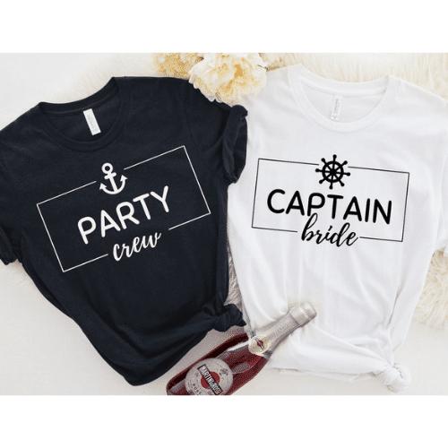 Nautical Bachelorette Party Ideas + Tshirts