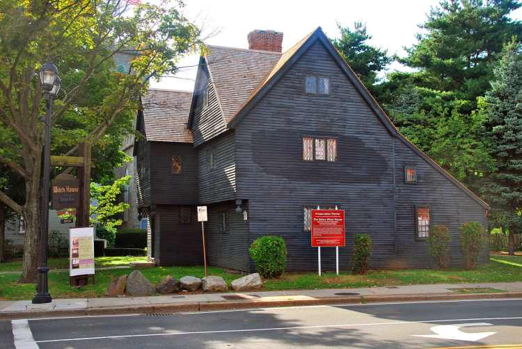 Salem Witch House - Spookiest Places to Visit in the USA