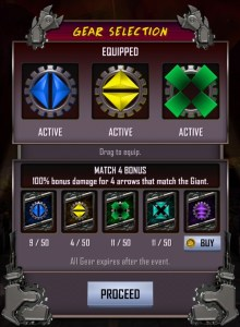 WWE SuperCard Giants Unleashed Gears