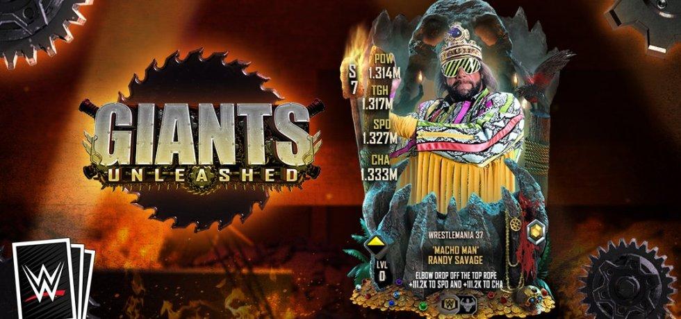 WWE SuperCard Giants Unleashed
