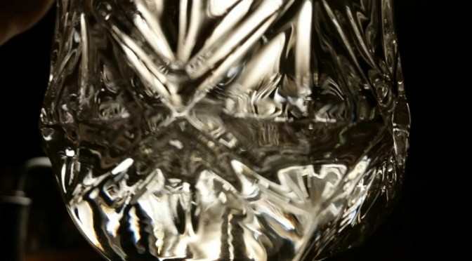 Glass in light
