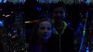 Christmas 2014 Smokey Mountains, Gatlinburg, Ripleys Mirror Maze