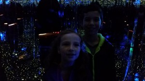 Christmas 2014 Smokey Mountains, Gatlinburg, Ripleys Mirror Maze
