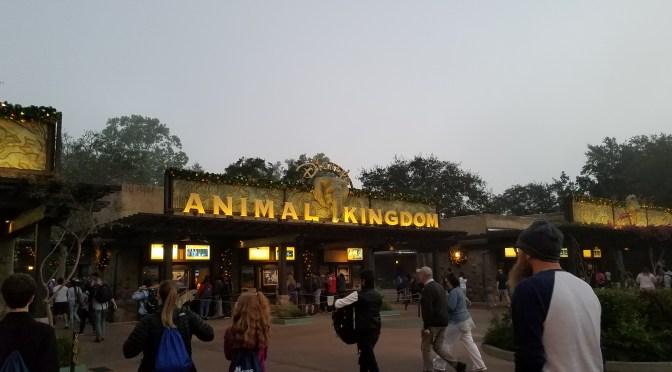 Disney World Vacation 2017: Day 1 Animal Kingdom
