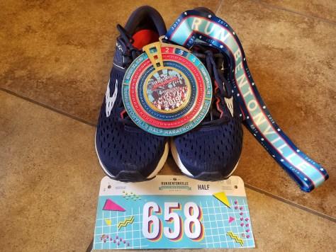 Bentonville Half Marathon 2019 onechristianman.com