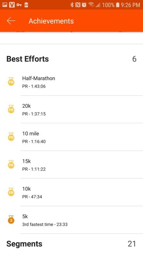 Bentonville Half Marathon 2019 onechristianman.com PR Day