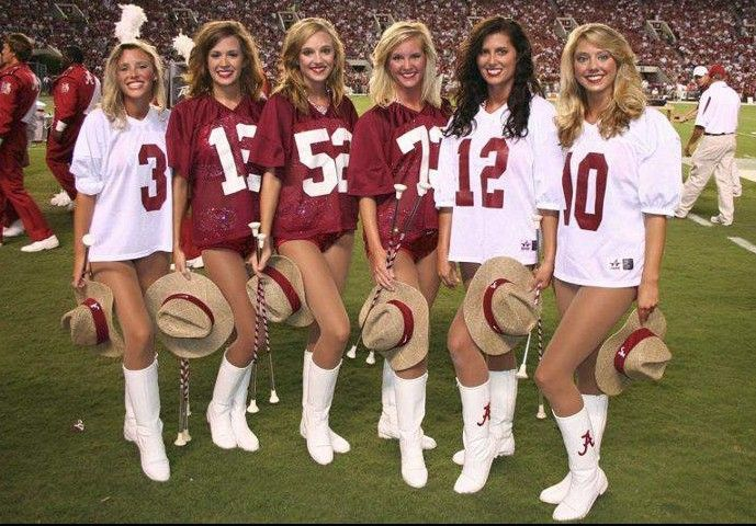 Image result for alabama football girl