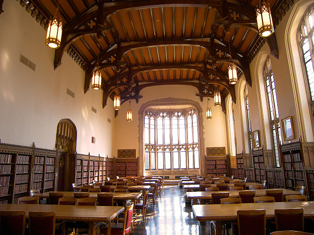 the great reading room: good place for studying