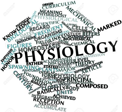 Terms relating to physiology