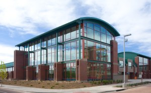 The High County Conference Center is one of the biggest buildings on NAU campus.