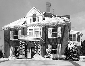 President's house_UNH
