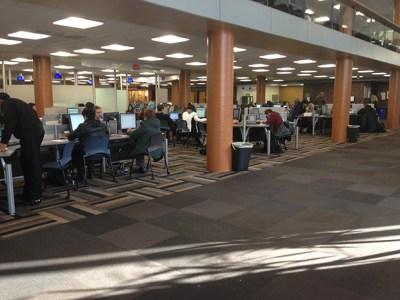 Study Space at Mugar Library
