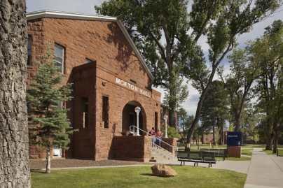 Morton Hall is a freshman dormatory at NAU.