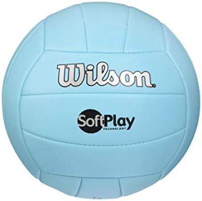 This image is of a volleyball that students within the Volleyball Club often use to play.