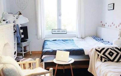 A student's dorm Room