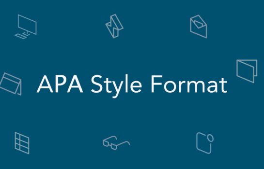 An image of the American Psychological Association (APA) referencing style logo