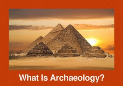 Archaeology classes have significant workloads