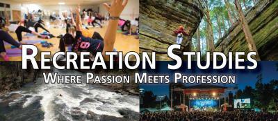 Recreation studies: where passion meets profit
