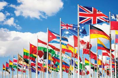 flags of different country
