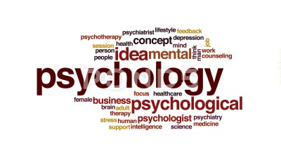 Major concentration areas in the study of psychology
