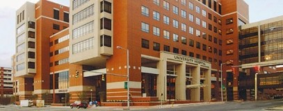 UAB hospital situated in Birmingham's medical district