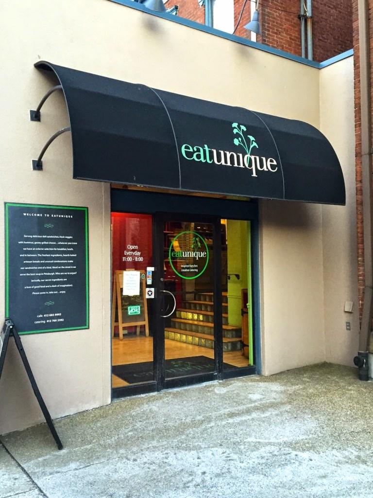 Eat Unique outside of restaurant