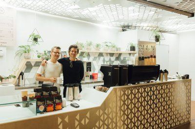 An image of Thom and Bargen Coffee and Tea