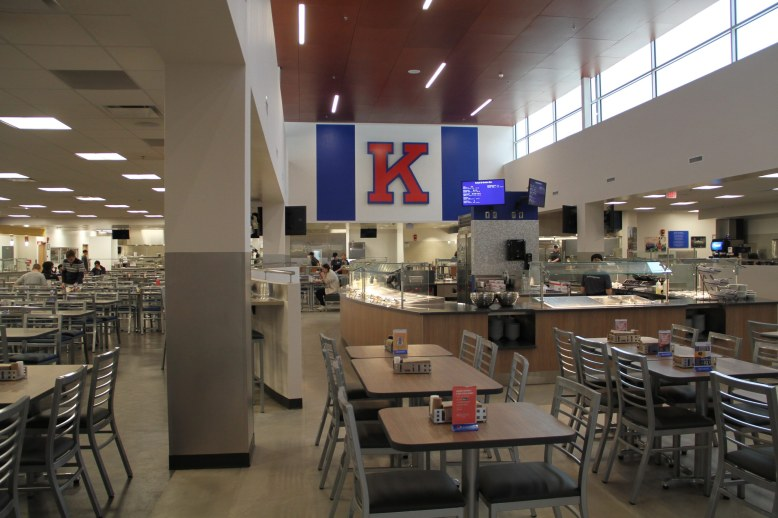 University of Kansas on campus cafe