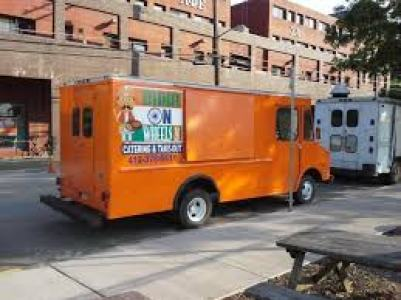 Fast food truck cafe
