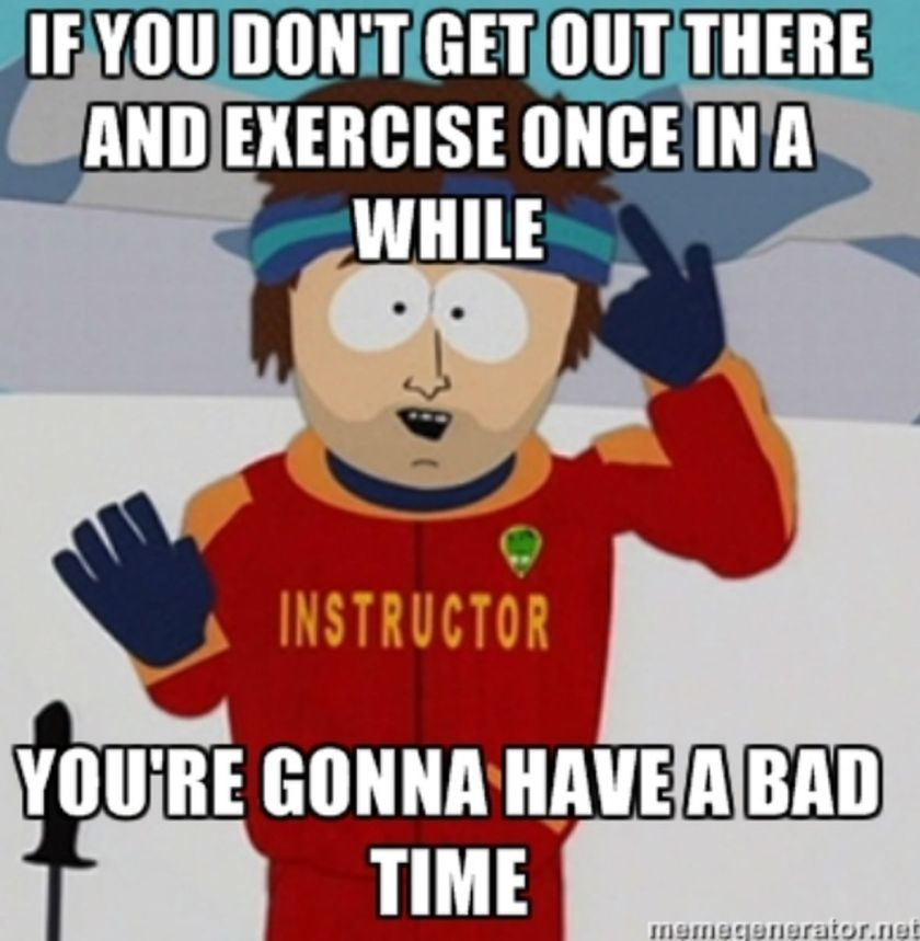 Exercises are vital for health and fitness
