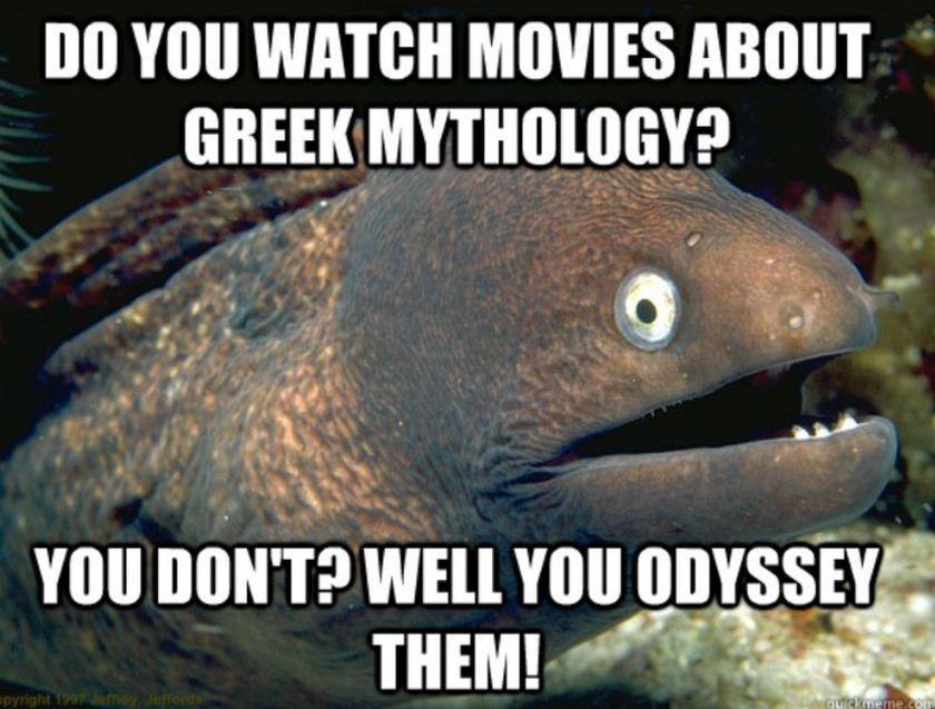 Greek myths has influenced modern societies meme