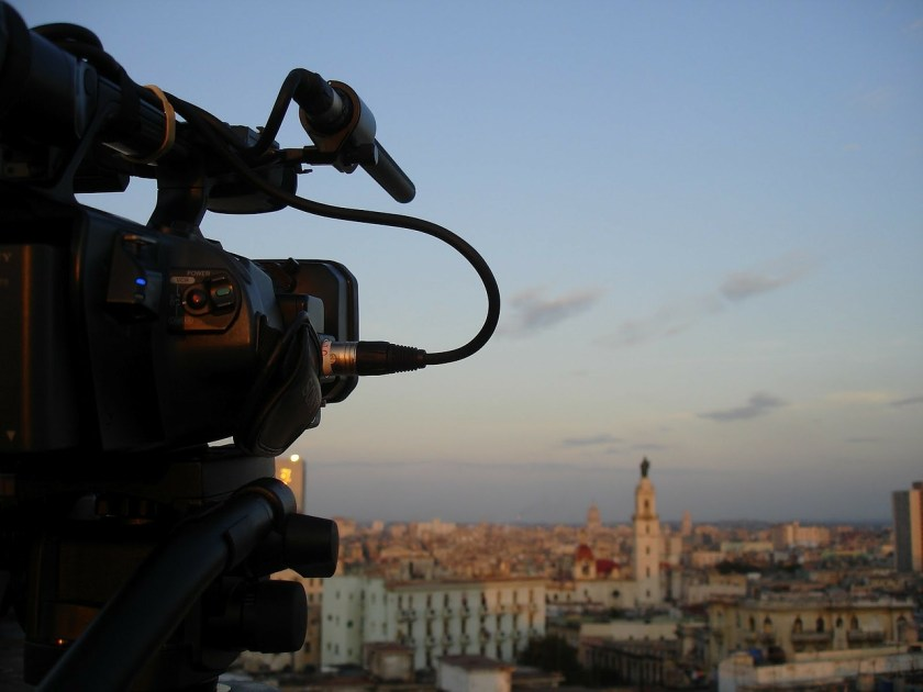 Seeing city through the camera lens