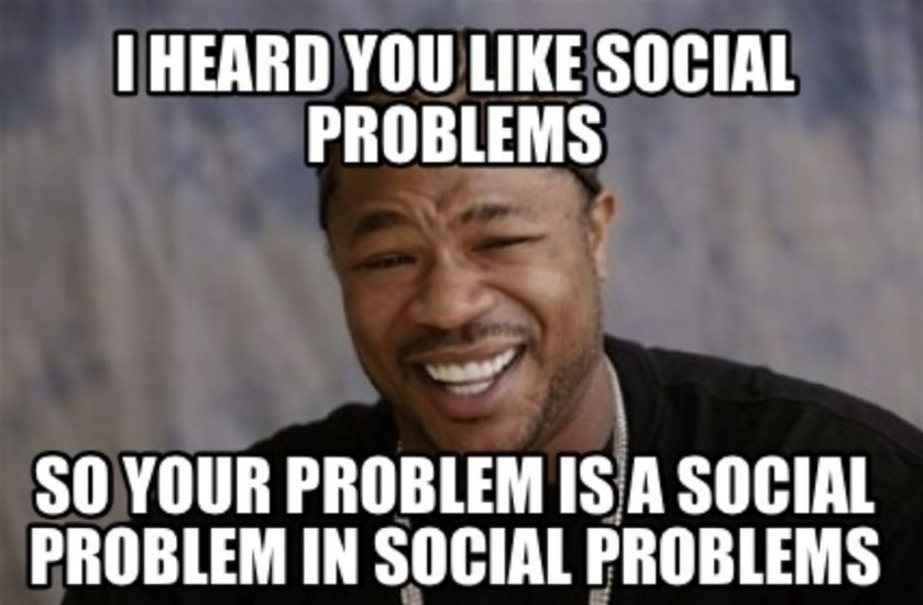 Wise students can deal with social problems effectively