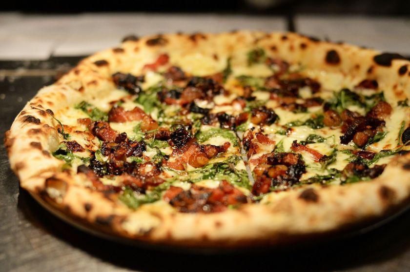 A taste of BAR's pizza