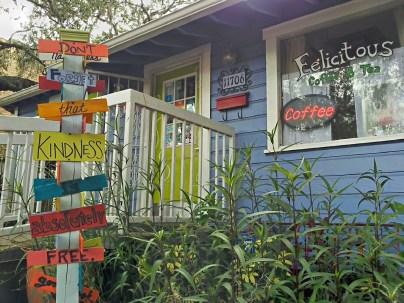An image of Felicitous Coffee & Tea entrance
