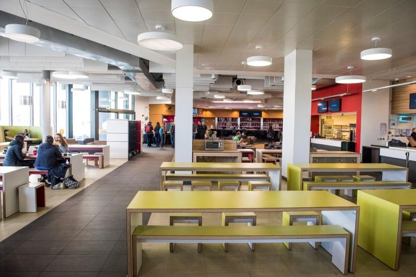 Interior view of Pitstop Café