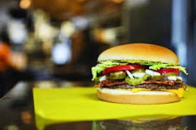 burger serving