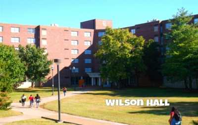 The halls of residence
